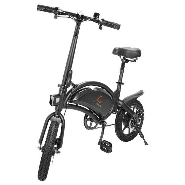 Kugoo Kirin B2 14 Inch Fat tire Folding Electric Moped Bike Electric bicycle outdoor e bike